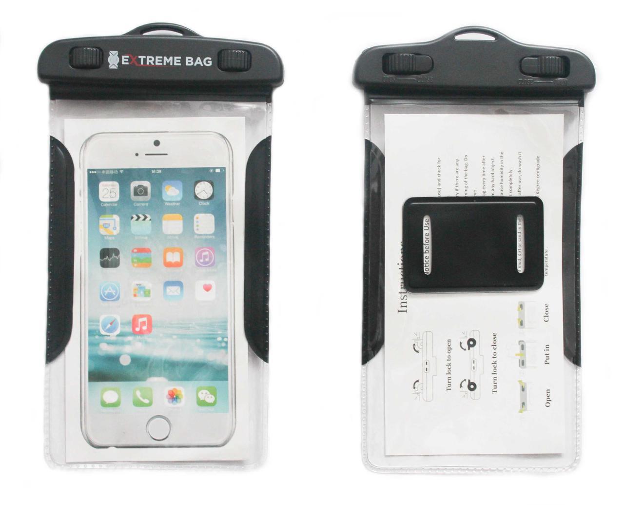 Водонепроницаемый чехол Extreme bag для смартфонов до 6 ''