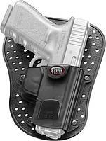 Кобура Fobus для Glock-19,26 внутрибрючная черная