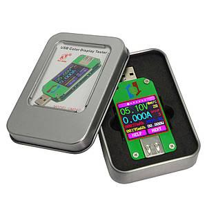 Тестер USB UM24C фірми RuiDeng з Bluetooth підключенням до ПК