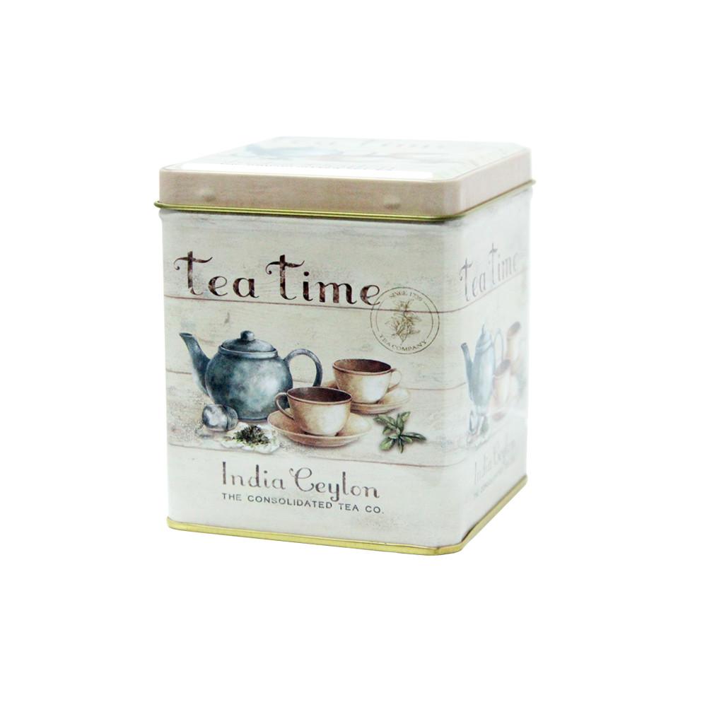 Банка для чая и кофе Чайная компания, 100г (контейнер для сыпучих)