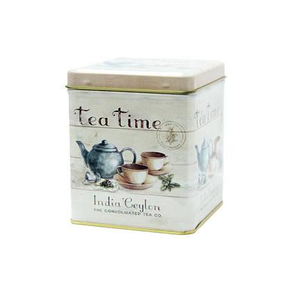 Банка для чая и кофе Чайная компания, 100г (контейнер для сыпучих), фото 2