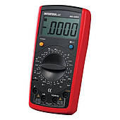 Мультиметр цифровой CAT III-600В/CAT II-1000В INTERTOOL MD-0002