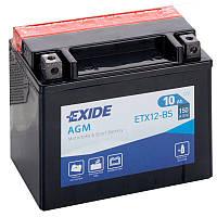 Аккумулятор   10Ah-12v Exide AGM (ETX12-BS) (150х87х130) L, EN150