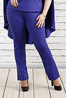 Фиолетовые трикотажные брюки opt-b37-3