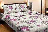 Постельное белье Lotus Ranforce Ella розовое двухспального евро размера