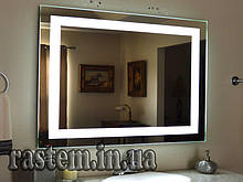 Дзеркало для ванної з LED підсвічуванням вологостійке 1025х800 мм. дзеркало