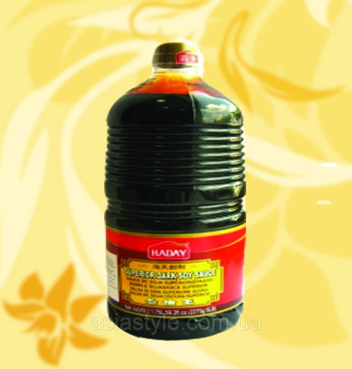Соус соєвий темний, Haday, 1750мл, НФЗМ