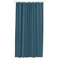 ЭГГЕГРУНД Штора для ванной, зелено-синий, 180x200 см 50339112 IKEA, ИКЕА, EGGEGRUND