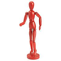 GESTALTA Декоративная статуэтка человека, красный 80256148 IKEA, ИКЕА, GESTALTA