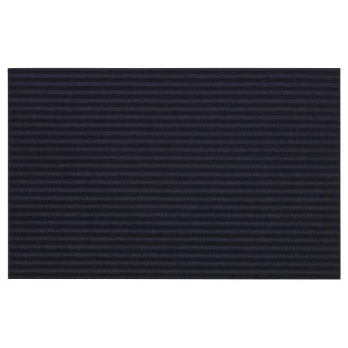 KRISTRUP Придверный коврик, темно-синий, 35x55 см 90392452 IKEA, ИКЕА, KRISTRUP