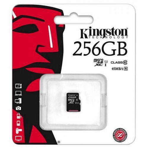 Kingston microSDXC 256GB UHS-I (без адаптера) (SDC10G2/256GBSP)
