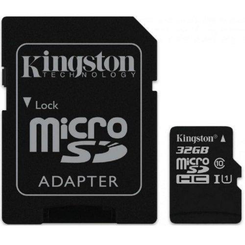 Kingston microSDXC 64GB Class 10 UHS-I R80MB/s (без адаптера) (SDCS/64GBSP)