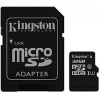 Kingston microSDXC 64GB Class 10 UHS-I R80MB/s (без адаптера) (SDCS/64GBSP), фото 1
