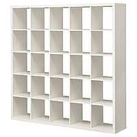 КАЛЛАКС Стеллаж, белый, 182x182 см 70301537 ИКЕА, IKEA, KALLAX