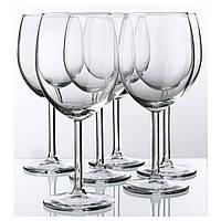 СВАЛЬК Бокал для красного вина, прозрачное стекло, 300 мл, 6 шт. 30015123 IKEA, ИКЕА, SVALKA