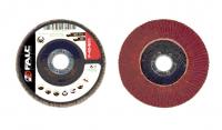 Круг лепестковый шлифовальный торцевой FALC 115 мм, P36, выпуклый профиль (10 шт. в коробке)