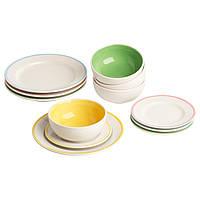 ДУКТИГ Детский набор игрушечной посуды 10235885 IKEA, ИКЕА, DUKTIG