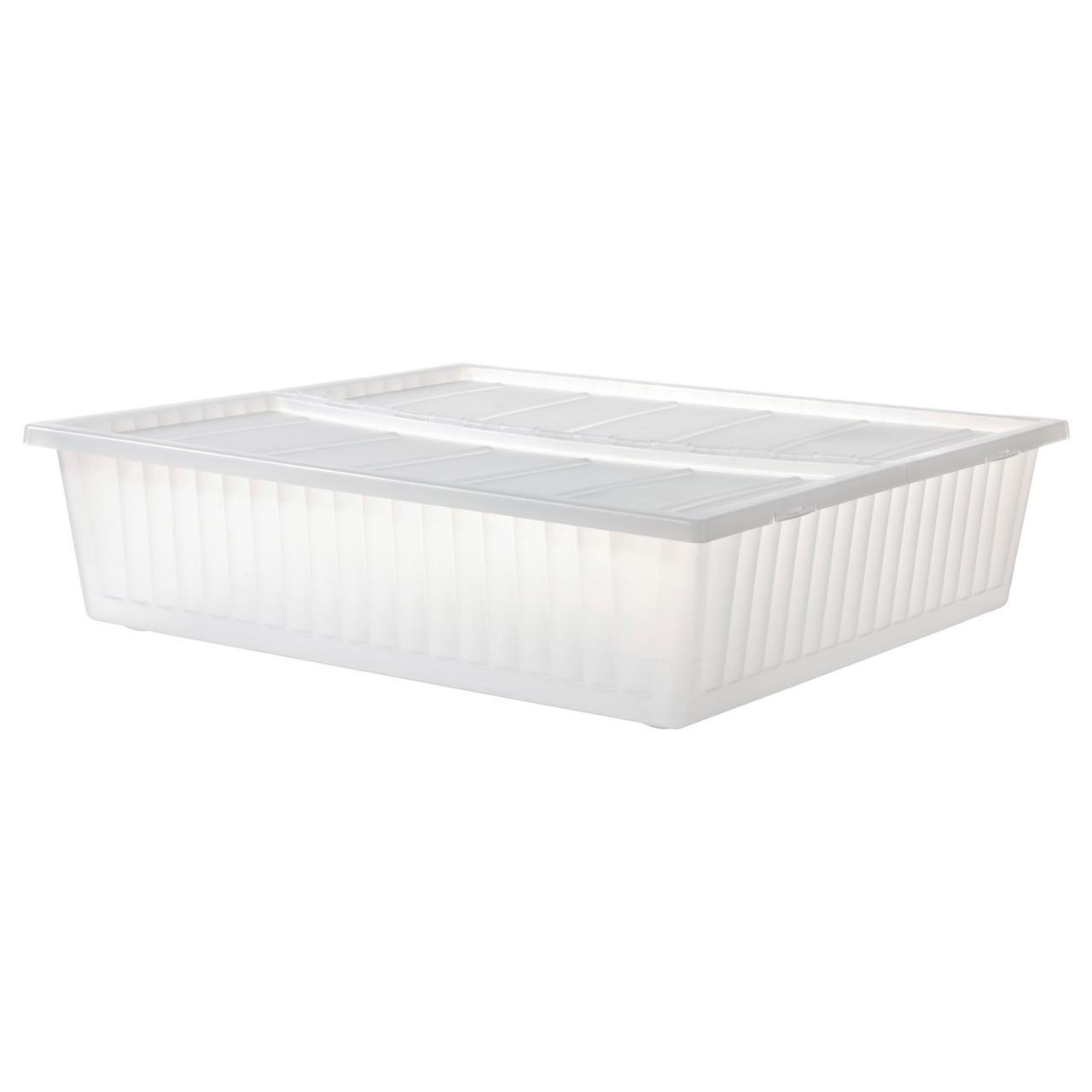ГИМСЕ Ящик кроватный, белый, 65x70 см 20222665 ИКЕА, IKEA, GIMSE