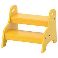 ТРУГЕН Детский стул, желтый, 40x38x33 см 80371520 IKEA, ИКЕА, TROGEN