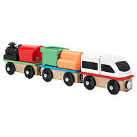 ЛИЛЛАБУ Поезд, 3 вагона 60320094 ИКЕА, IKEA, LILLABO