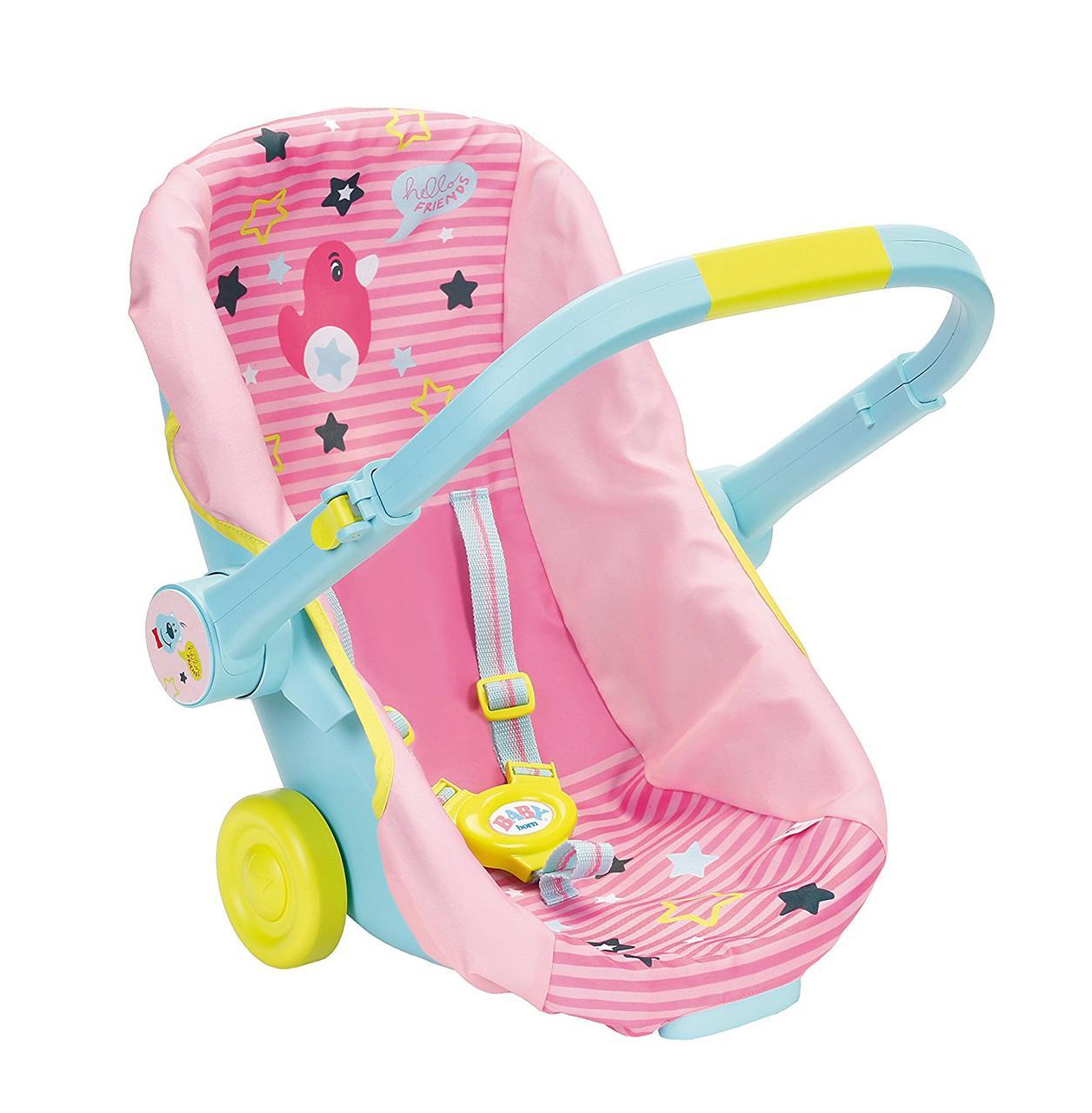 Переноска на колесах для куклы Zapf Baby Born 824412