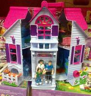 Домик F611 раскладной с фигурками, мебелью дом для кукол