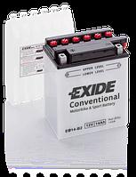 Аккумулятор   14Ah-12v Exide (EB14-B2) (134х89х166) L, EN145