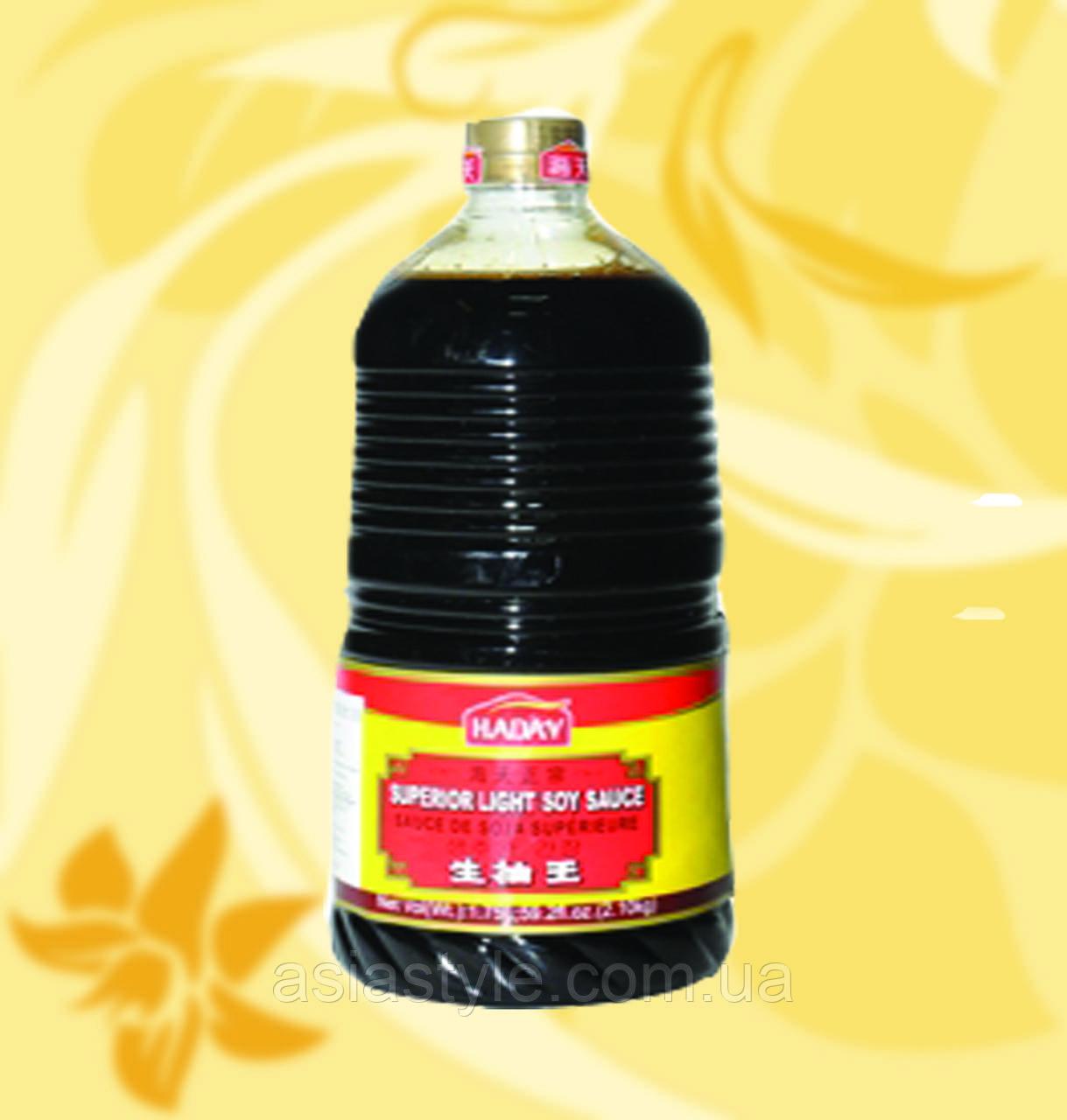 Соус соєвий світлий, Haday, 1750мл, НФЗМ