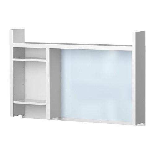 МИККЕ Высокий дополнительный модуль, белый, 105x65 см, 90180025, IKEA, ИКЕА, MICKE