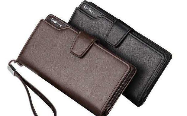 7fab56c8b803 Мужской бумажник портмоне Baellerry Business кожаный Кошелек байлери ...