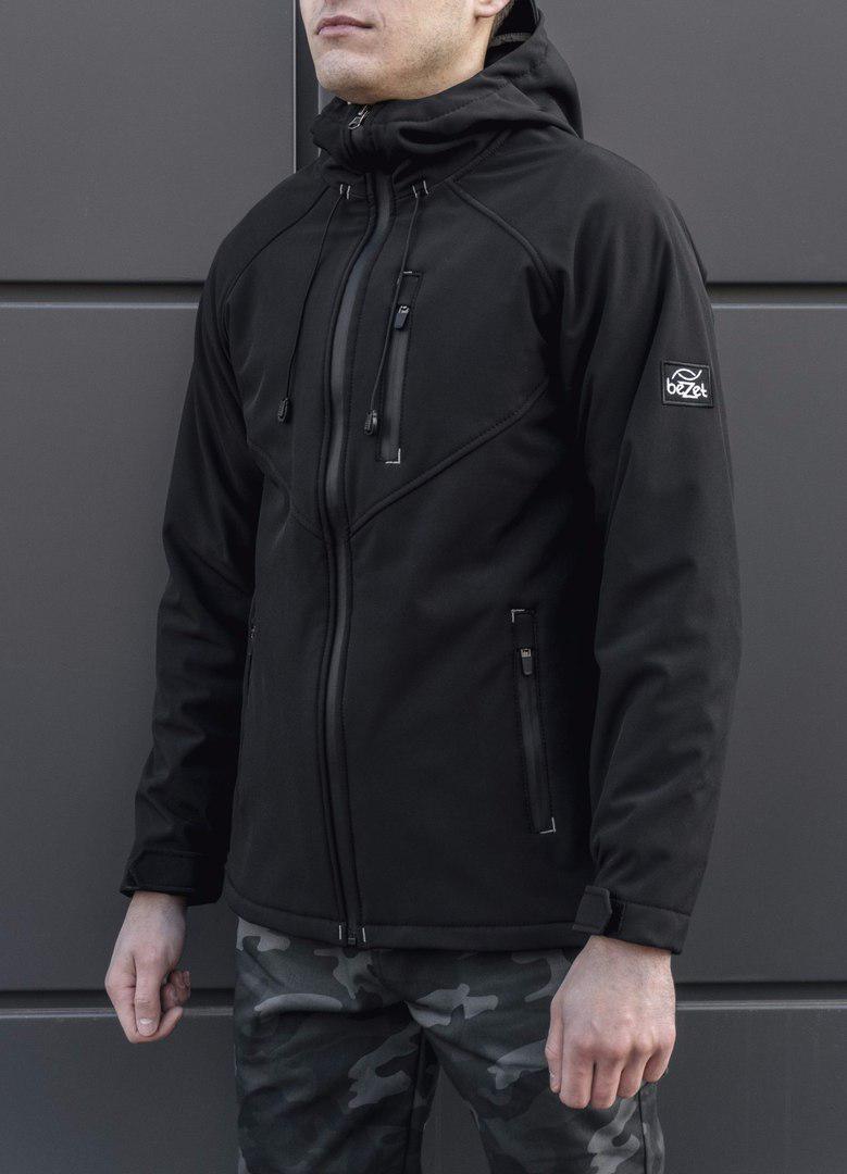 Куртка вітрівка beZet Softshell black  18 (весна-осінь)  продажа ... 0283b38c384cb
