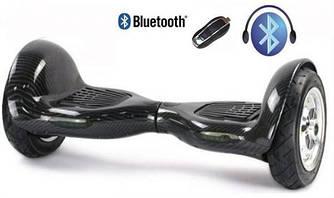Гироскутер Smart Balance 10 Bluetooth  LED подстветка (черный)