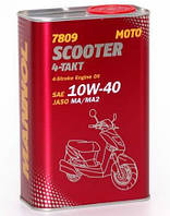 Моторное масло Mannol Scooter 4-Takt 10W40