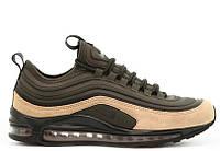 "Мужские кроссовки Nike Air Max 97 Ultra ""Sequoia"". Живое фото (Реплика ААА+)"