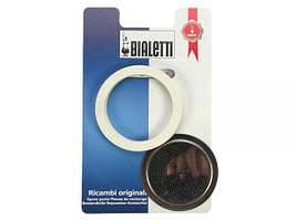 Запасний фільтр + 3 ущільнюючих кільця (10 чашок) Bialetti 0186005