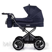 Коляска детская прогулочная TILLY Family NEW Blue T-181
