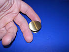 Мебельная кнопка 30мм бронза, фото 5