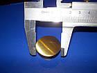 Мебельная кнопка 30мм бронза, фото 6