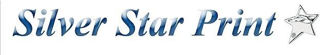 Silver Star Print