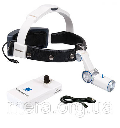 Налобный осветитель HiLight® LED H-800 с аккумулятором для крепления на ремень, фото 2