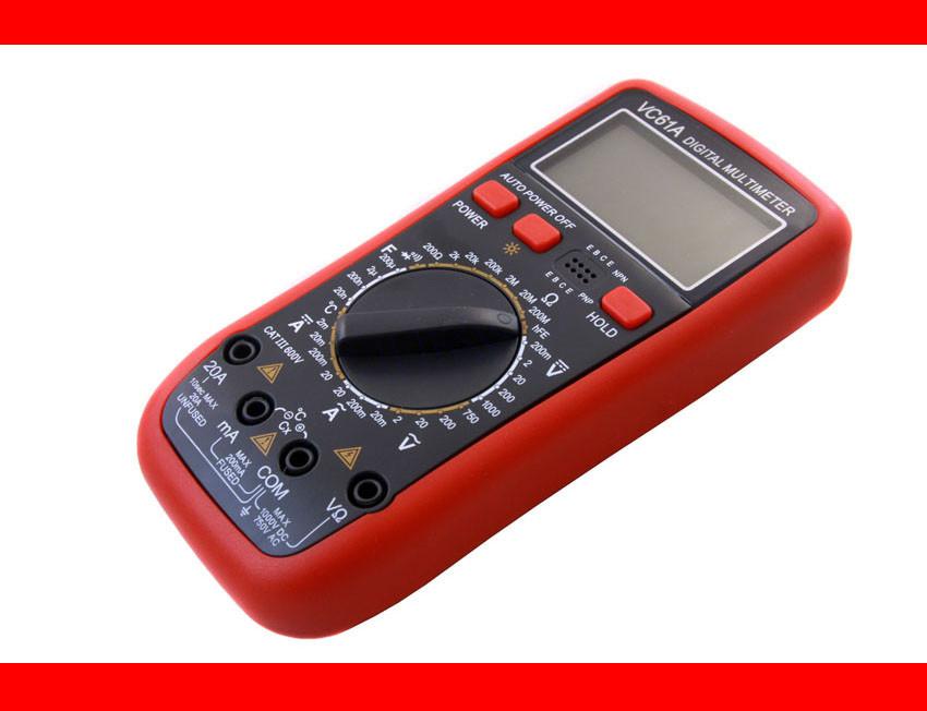Цифровий мультиметр з температурою VC 61A CP