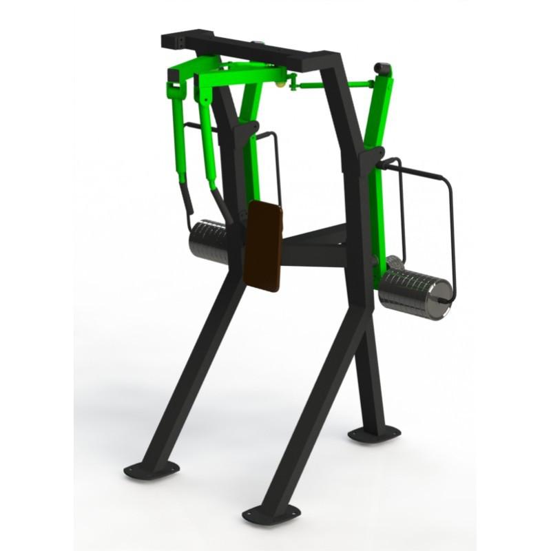 Тренажер для задних дельт
