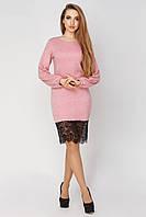 Платье  женское Луиза  48, пудра