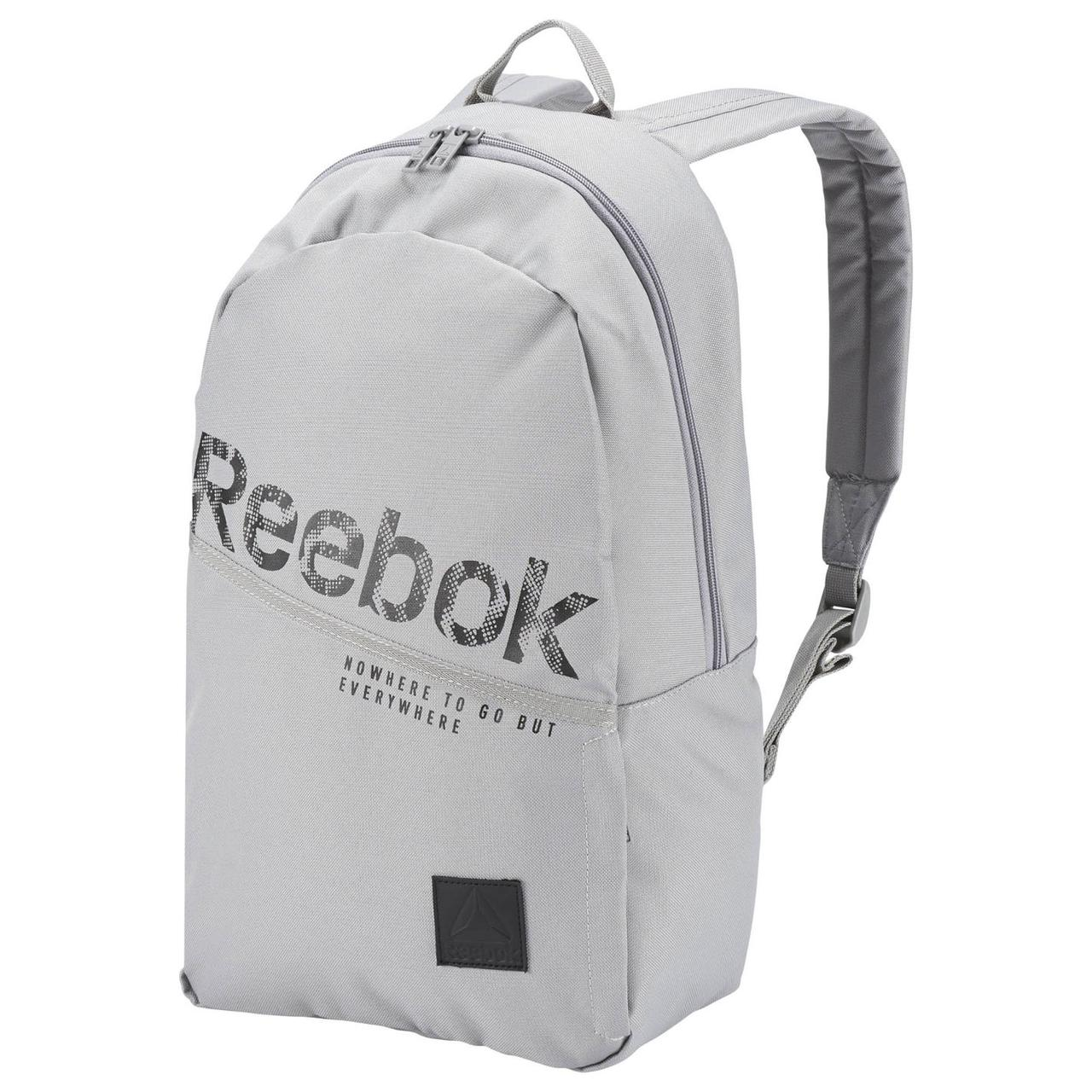 c78f3c23 Рюкзак Reebok Style Found Follow Grip Bag Grey Оригинал спортивный серый