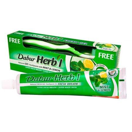 """Зубная паста Dabur """"Мята и лимон"""""""