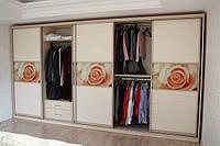 гардеробный шкаф купе с рисунком фото 78