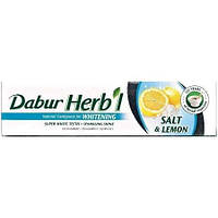 """Відбілююча зубна паста Dabur """"Сіль і лимон"""" 80 р."""