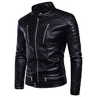 Косуха байкерская,куртка кожаная мужская.Натуральная кожа.