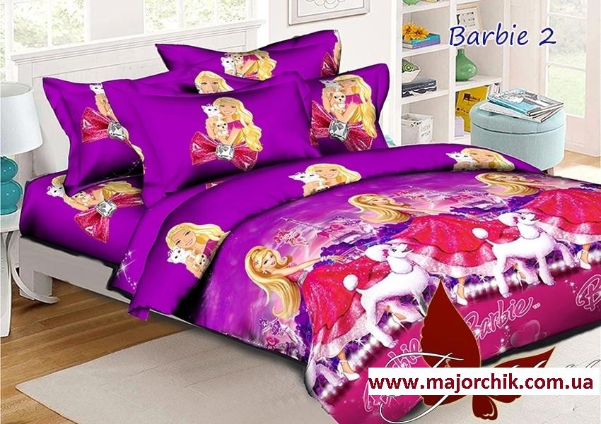 Комплект постельного белья Барби-2 полуторный 150х215