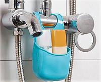 Силиконовая подвеска универсальная на кран для мыла,- МЫЛЬНИЦА.